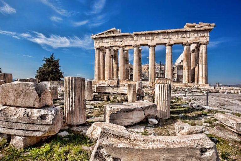 half-day sightseeing tour around athens