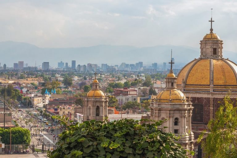 colonial tour over great mexico city