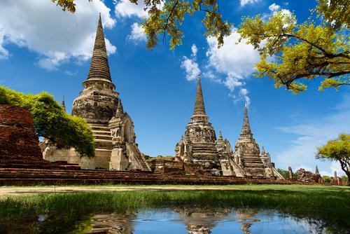 bangkok: temples bouddhistes d'ayutthaya bangkok