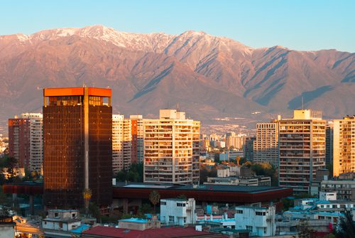 santiago: excursion � caj�n shanghai