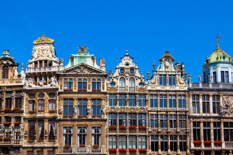 tour a pie por bruselas
