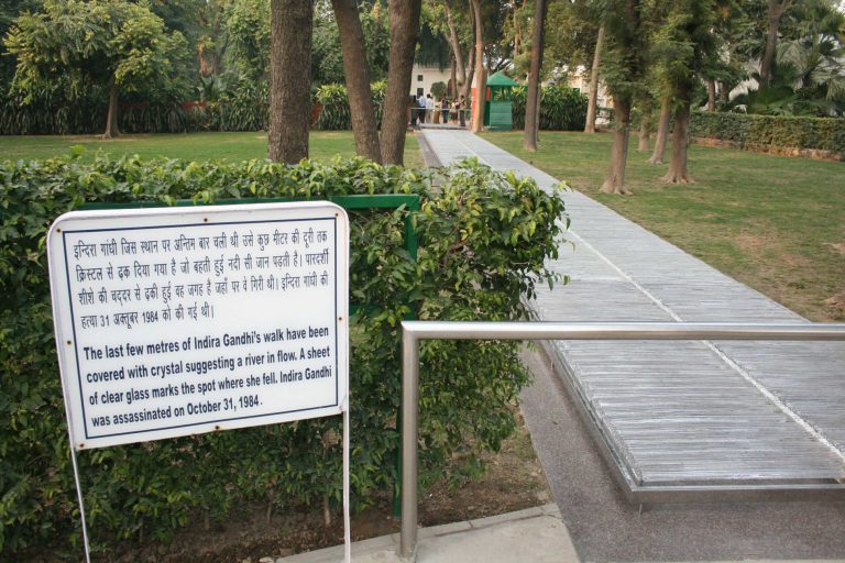 mahatma gandhi's historical and new delhi