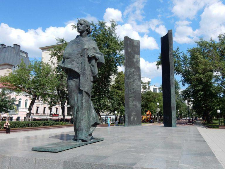 walking tour around boulevard moscow