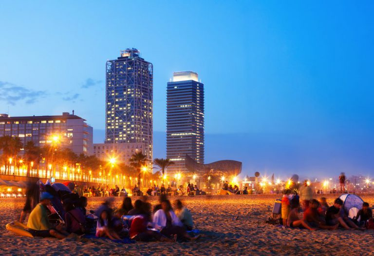 experience the nightlife of barcelona