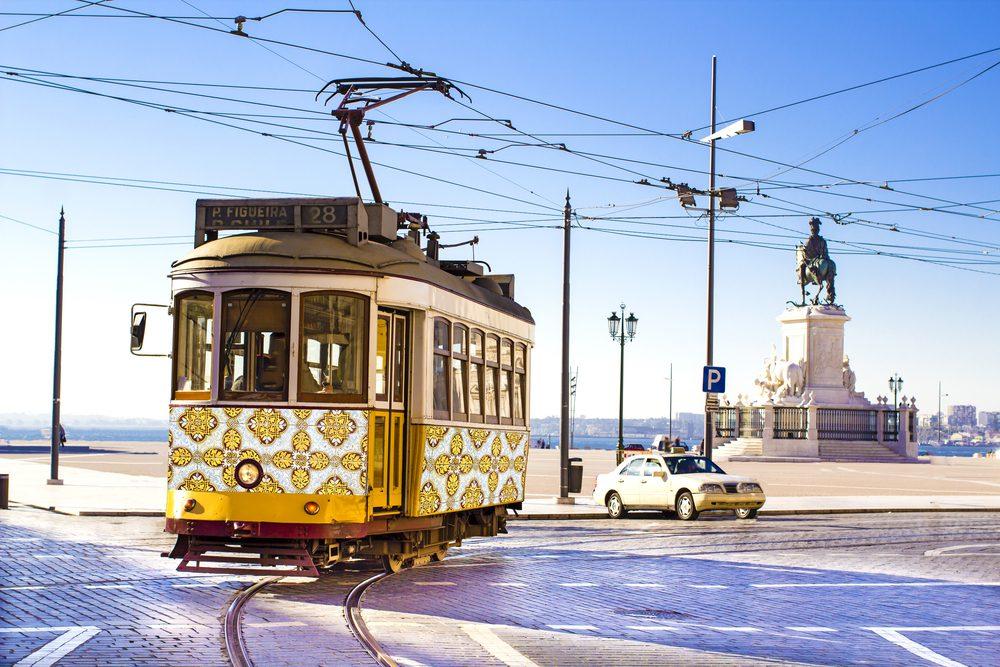 Timos en el transporte público de Lisboa
