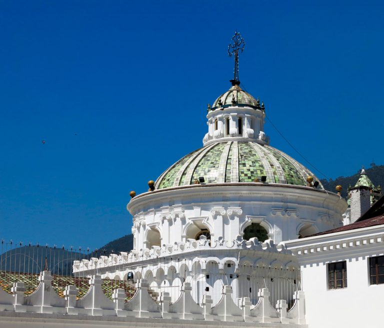 guided tour over colonial quito