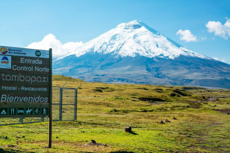 excursion over cotopaxi national quito