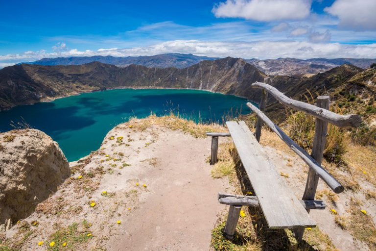 discover the quilotoa lake quito