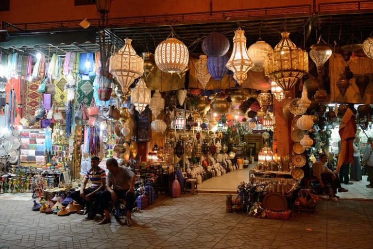 tour a pie con marrakech