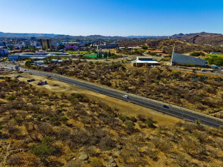 recorrido en el municipio windhoek