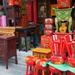 paseo de compras por xian