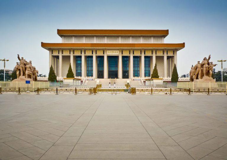the mausoleum of mao pechino