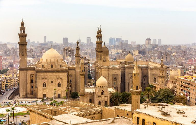 mezquita sultan hassan  el cairo