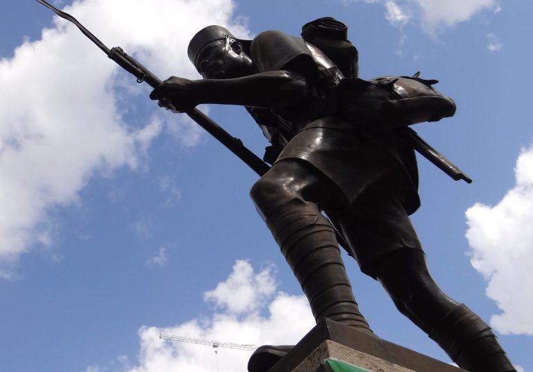 the askari monument  dar es salaam