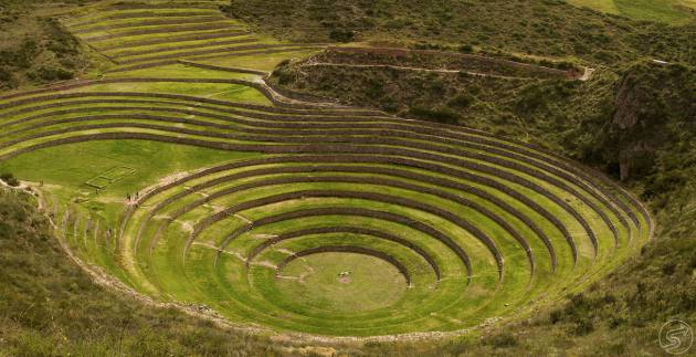 archaeological tour over moray cusco