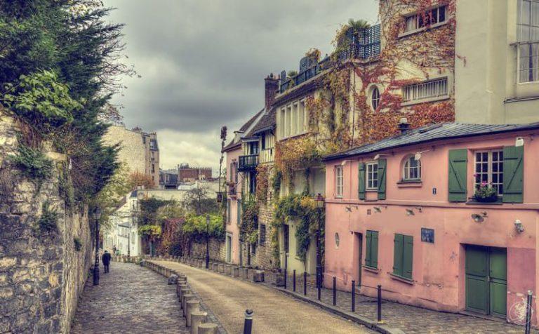 tour a piedi per parigi