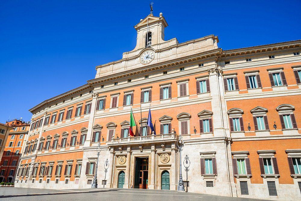 Palazzo montecitorio qu ver en rome con servantrip for Parlamento montecitorio