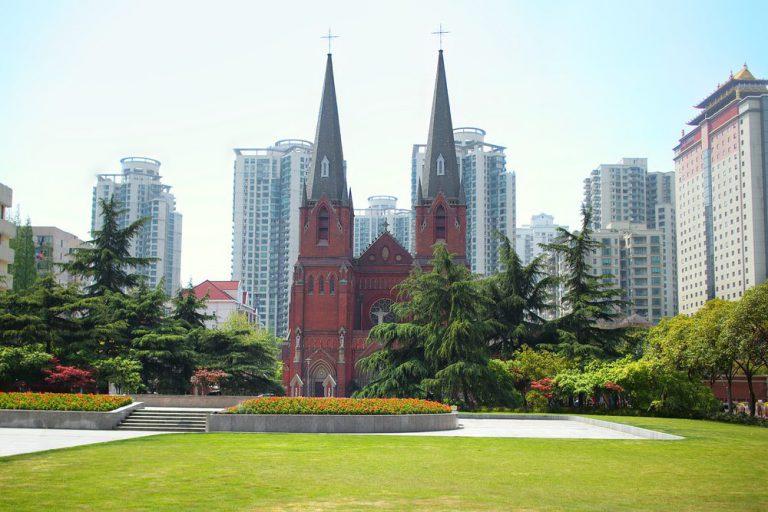xujiahui cathedral   shanghai