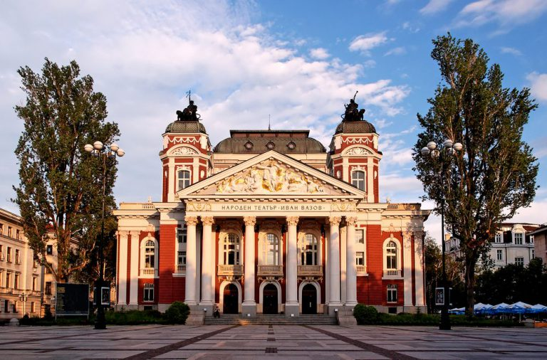 the national theater  sofia