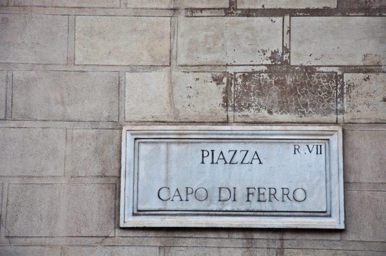 piazza capo di ferro roma