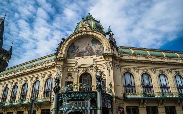 municipal house   prague