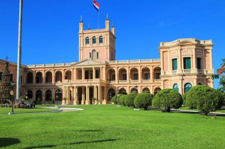 palacio de gobierno  asuncion