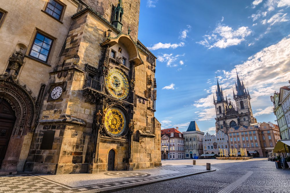Private transfer in Prague from the airport PRG Václav Havel Airport Prague