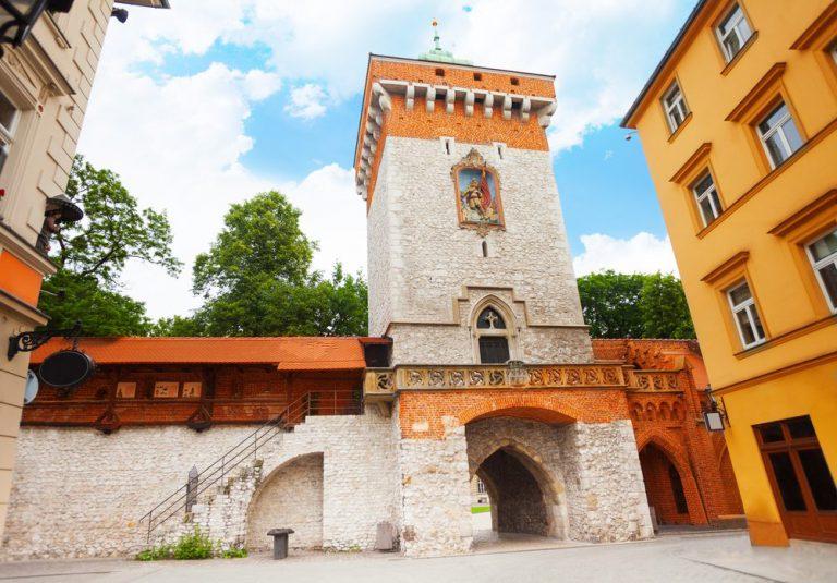 st florian's gate  cracovia