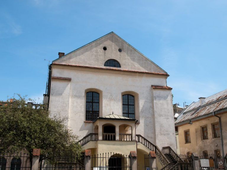 izaak synagogue   cracovie