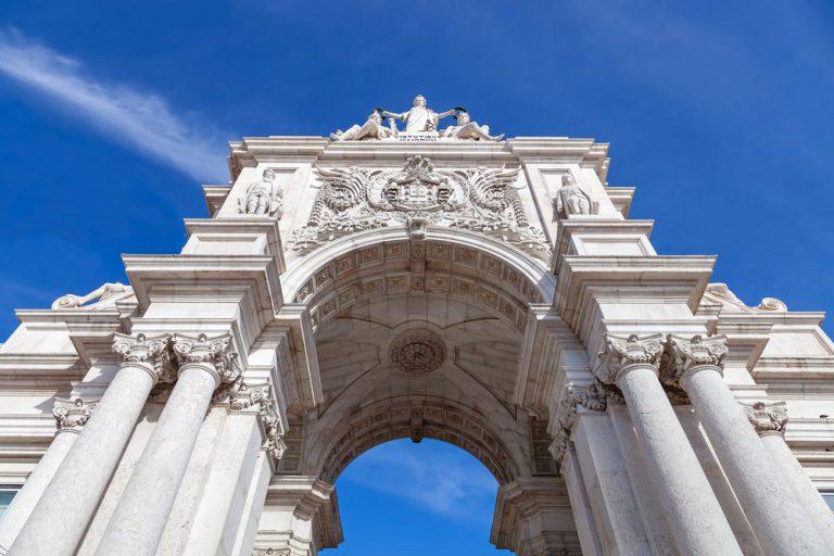 arch of rua augusta lisboa