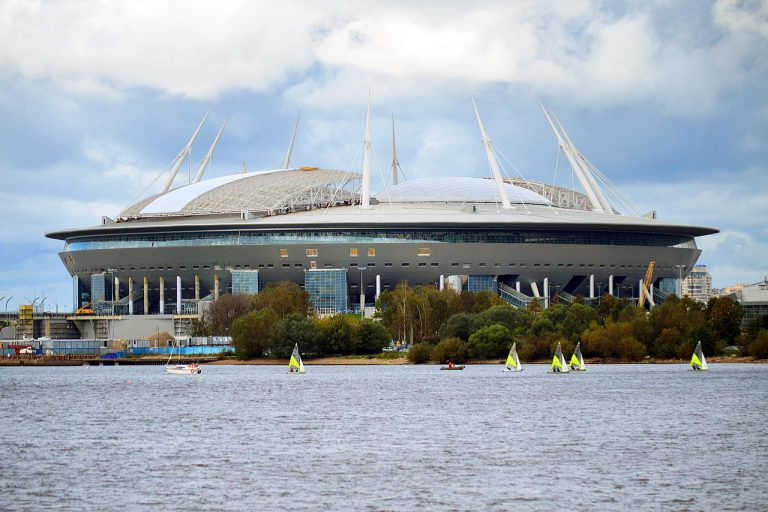 FIFA World Cup 2018. Krestovsky Stadium - Saint Petersburg.