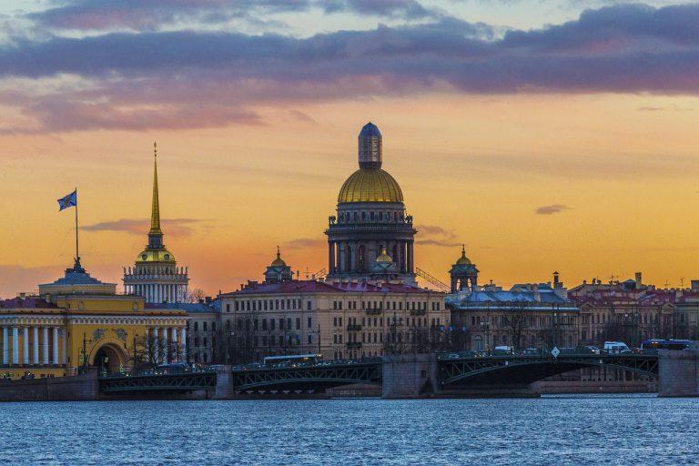 FIFA World Cup 2018. Arquitecture - Saint Petersburg.