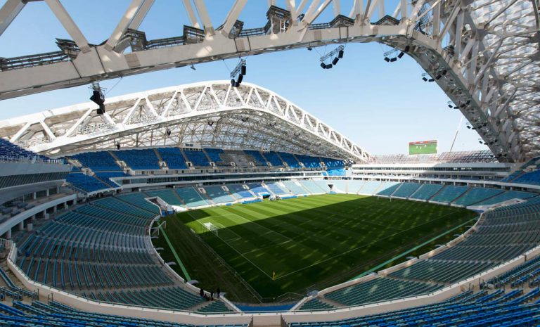 FIFA World Cup Russia 2018. Stadium Sochi. Sochi