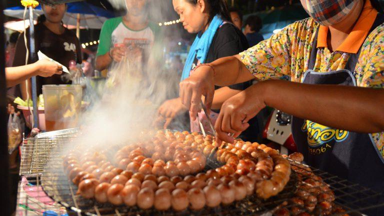 tour nocturno y gastron�mico bangkok
