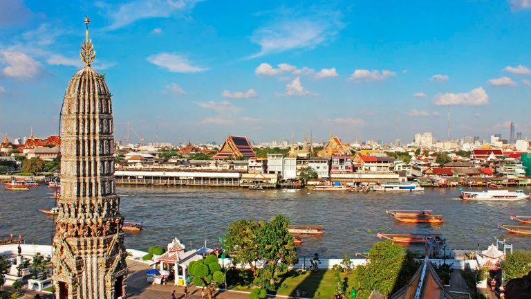 tour a pie por bangkok