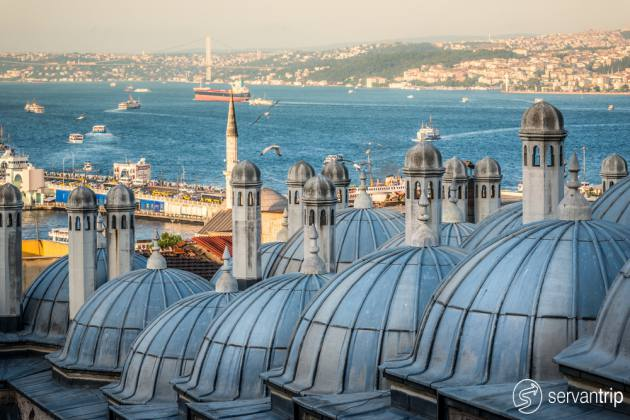 picturesque walking tour in istanbul