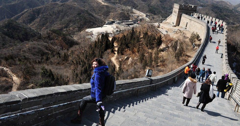 Estafas muralla china Pekín