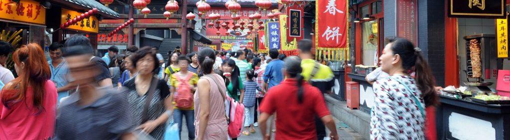Timos a turistas en Pekín